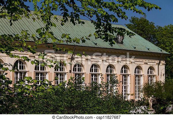 The Lazienki Palace In Lazienki Park Warsaw Lazienki Krolewskie