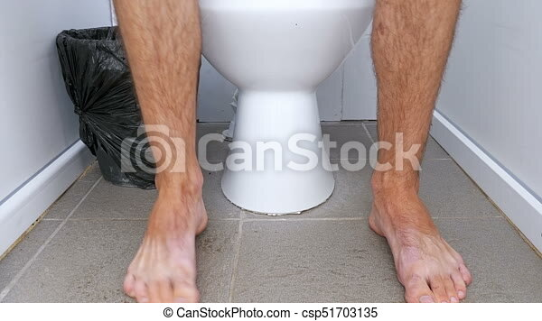 Hairy men in public restrooms