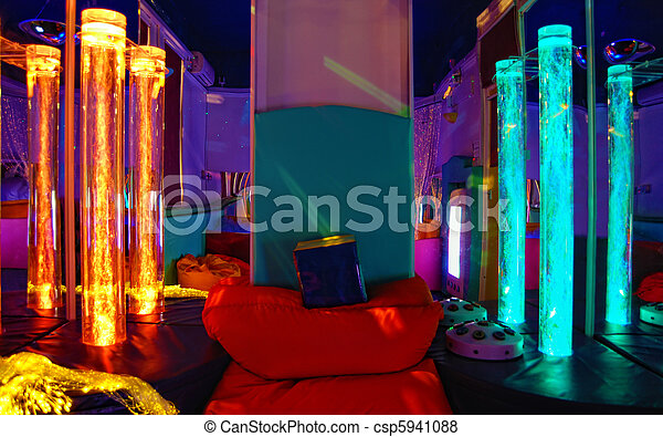 The light sensory room. - csp5941088