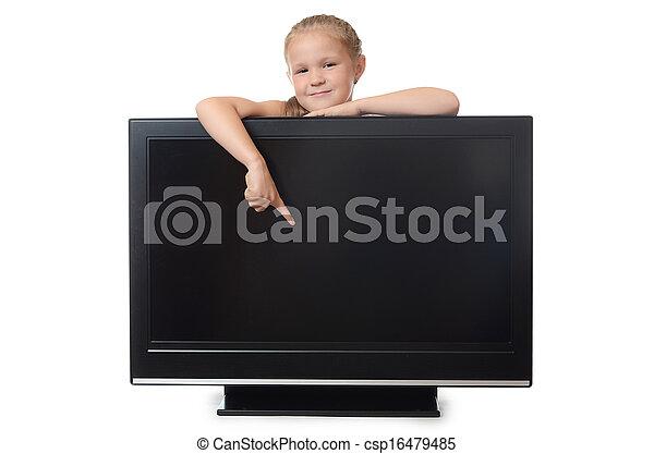 The little girl hides for lsd - csp16479485