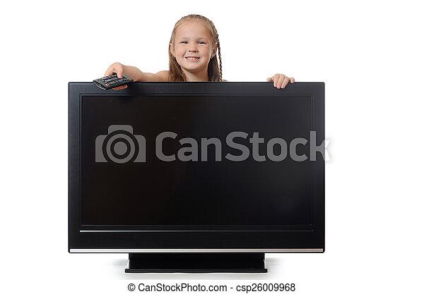 The little girl hides for lsd - csp26009968