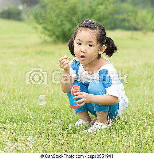 The little girl - csp10351941