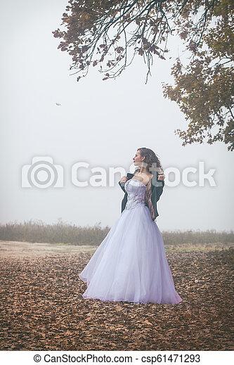 The Lonely Bride - csp61471293