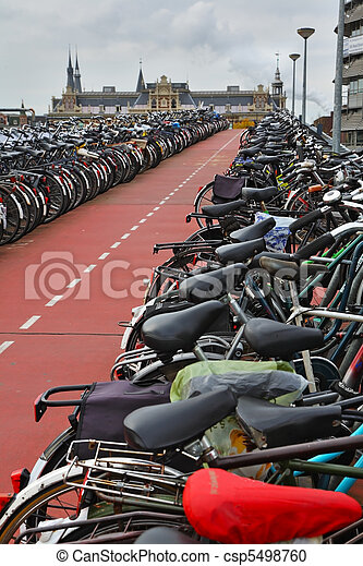 The long bike parking - csp5498760