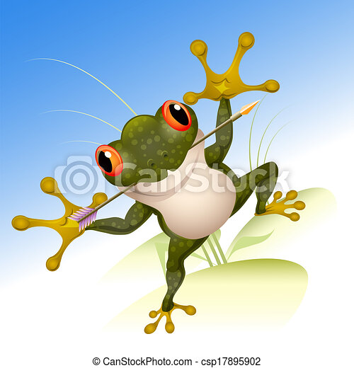 The lucky frog - csp17895902