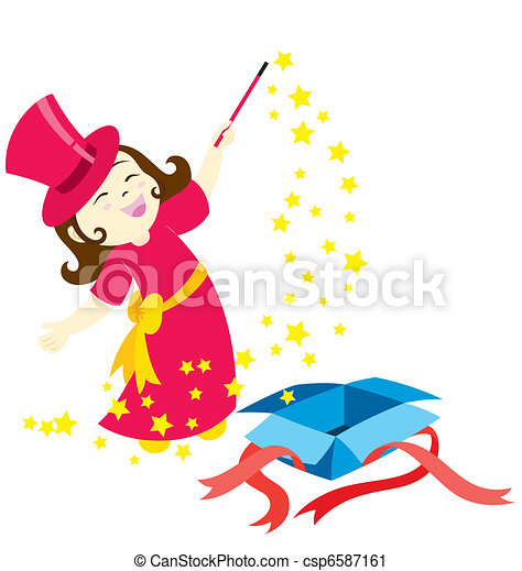 The Magic Girl - csp6587161