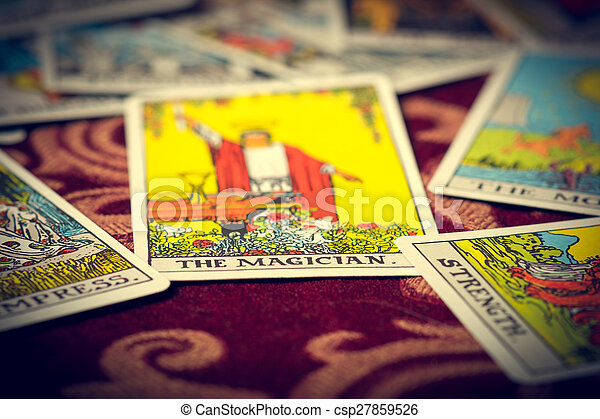 The Magician Tarot Card Macro