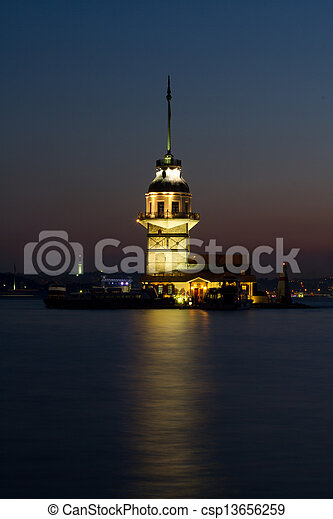 The Maiden's Tower - csp13656259