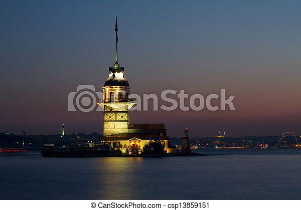 The Maiden's Tower - csp13859151