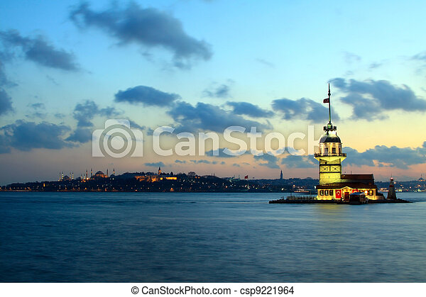 The Maiden's Tower - csp9221964