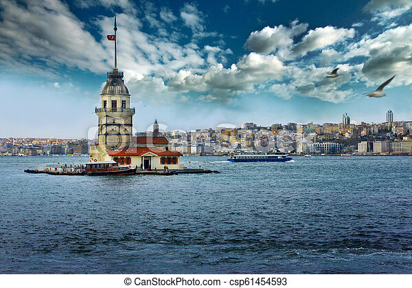 The Maiden's Tower - csp61454593