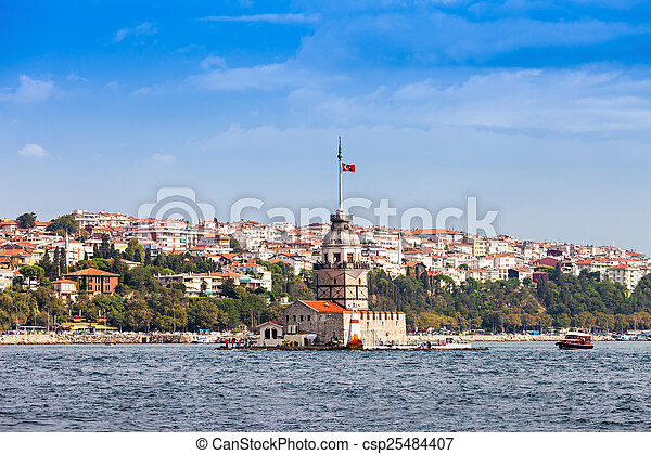 The Maiden's Tower - csp25484407