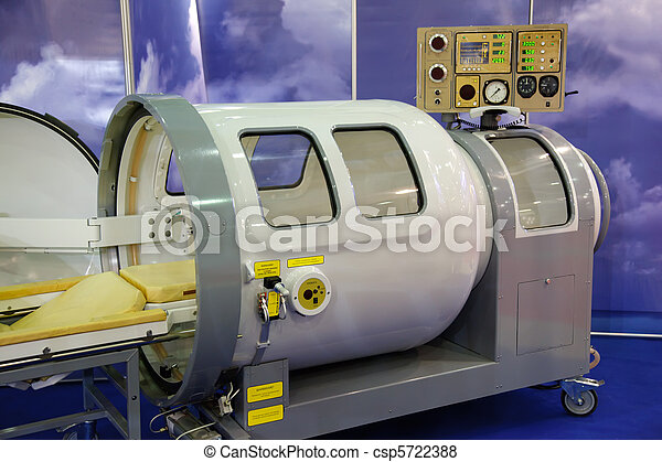 The medical equipment, pressure chamber. - csp5722388