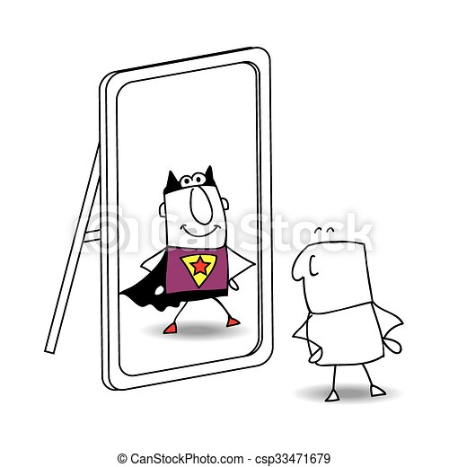 The mirror - csp33471679