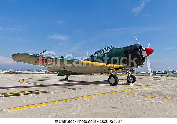 The Mitsubishi A6M Zero WWII - csp6051637