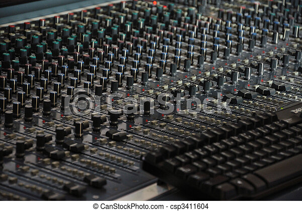 the mixing desk - pattern - csp3411604