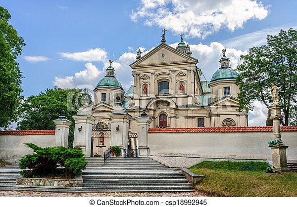 The Monastery of John Baptist, Poswietne, Poland - csp18992945