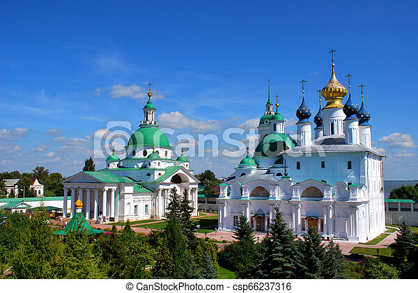 The Monastery of St. Jacob Saviour in Rostov the Great, Yaroslavl Oblast, Russia - csp66237316