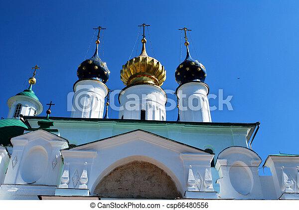The Monastery of St. Jacob Saviour in Rostov the Great, Yaroslavl Oblast, Russia - csp66480556