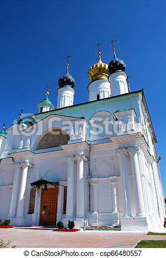 The Monastery of St. Jacob Saviour in Rostov the Great, Yaroslavl Oblast, Russia - csp66480557