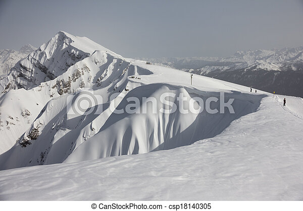 The mountains in Krasnaya Polyana, Sochi, Russia - csp18140305