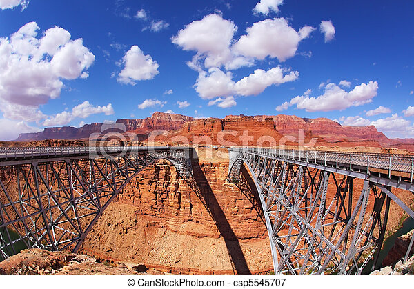 The Navajo Bridge  - csp5545707