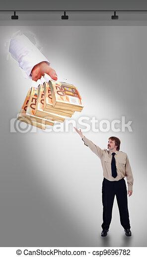 The new religion - businessmans faith - csp9696782