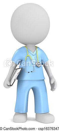 The Nurse. - csp16376347