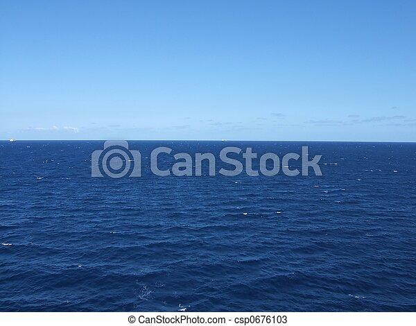 the ocean - csp0676103