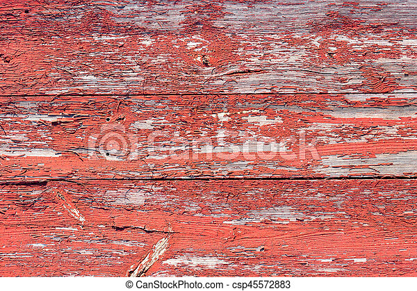 The old red wood texture with natural patterns - csp45572883