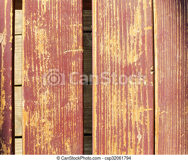the old wooden brown background - csp32061794