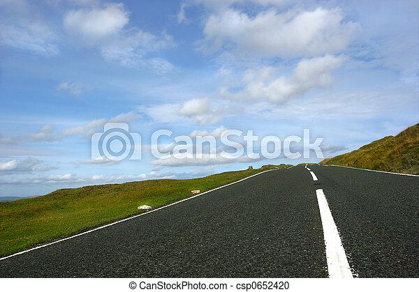 The Open Road - csp0652420