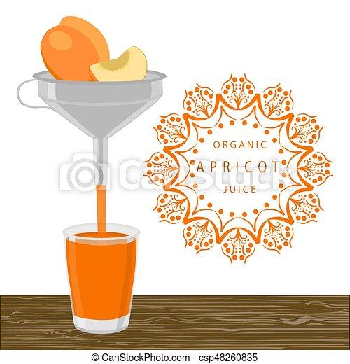 The orange apricot - csp48260835