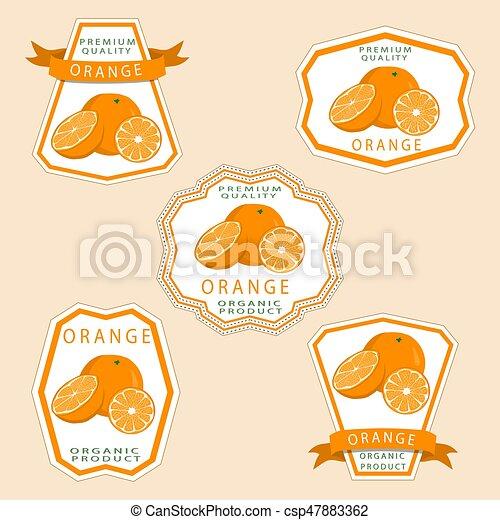 The orange - csp47883362