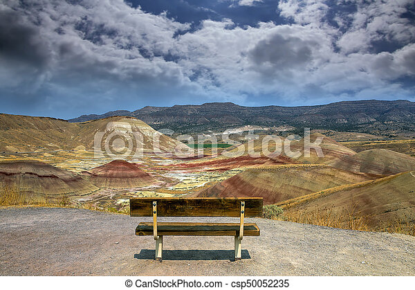 The Overlook at Painted Hills in Oregon - csp50052235