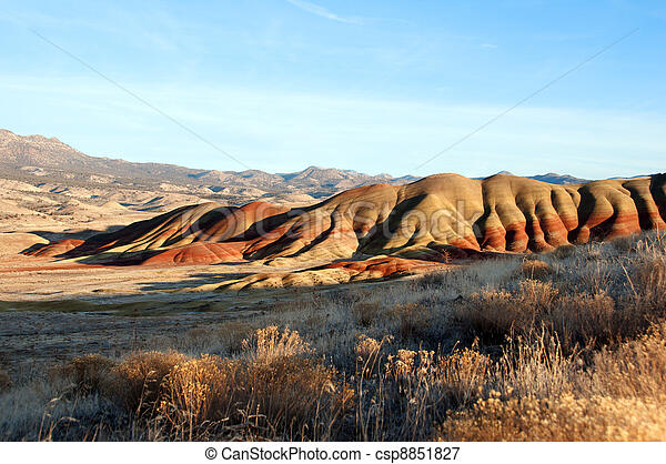 The Painted Hills - csp8851827
