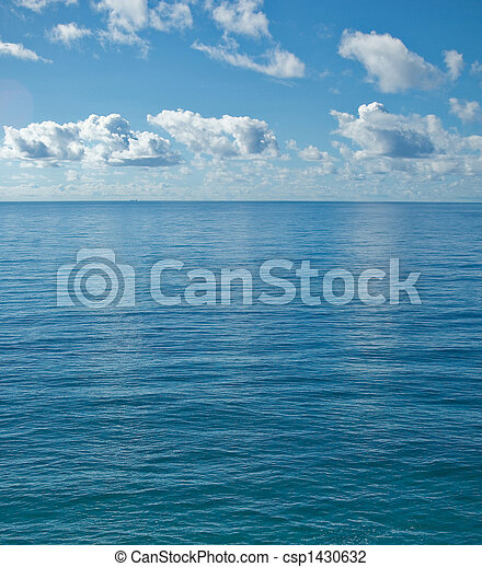 the peaceful calm ocean - csp1430632