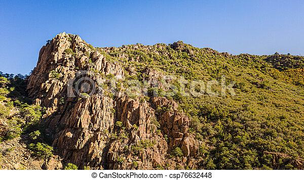 The peak of a mountain in Arizona - csp76632448