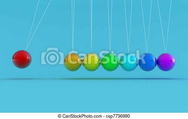 The pendulum - csp7736990