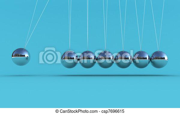 The pendulum - csp7696615