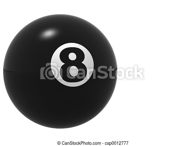 The Perfect 8 Ball - csp0012777