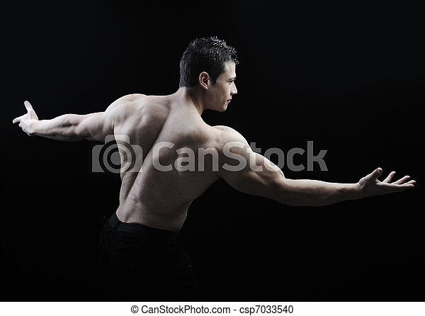 What is the perfect male body