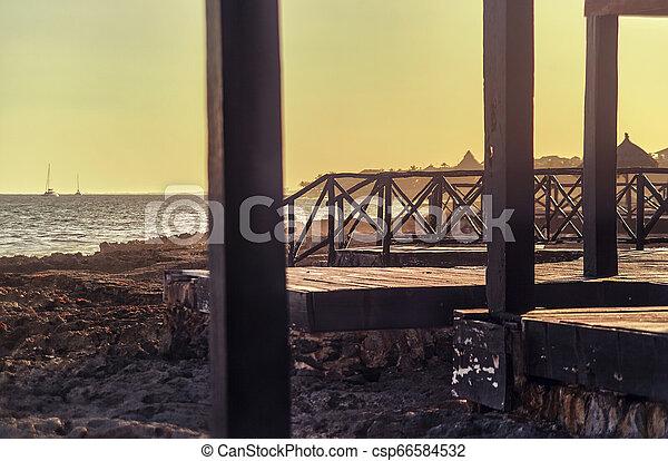 The pier of memories - csp66584532