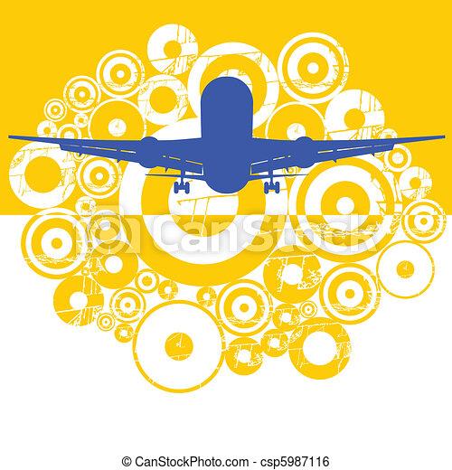The plane - csp5987116