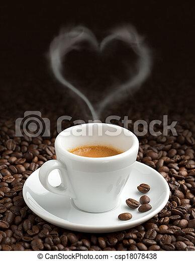 the pleasure of coffee - csp18078438
