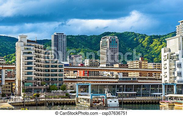 The Port of Kobe - Japan - csp37636751