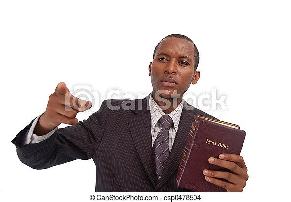 The Preacher - csp0478504