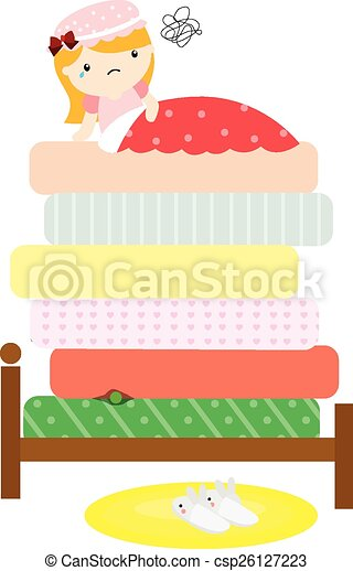 The Princess and the Pea - csp26127223