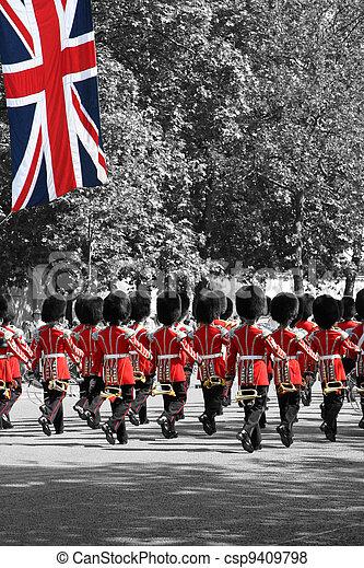 The Queen's Birthday Parade - csp9409798