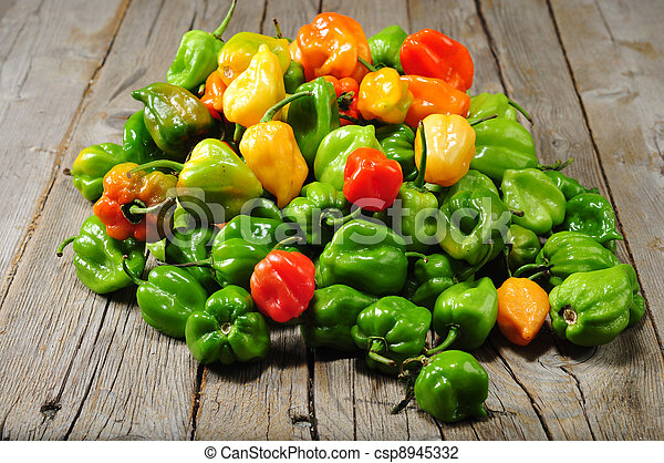 the real hot chilli peppers from mexico - csp8945332